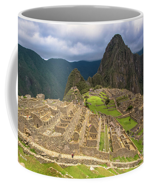 Coffee Mug featuring the photograph The Architecture Of Machu Picchu by Rene Triay Photography