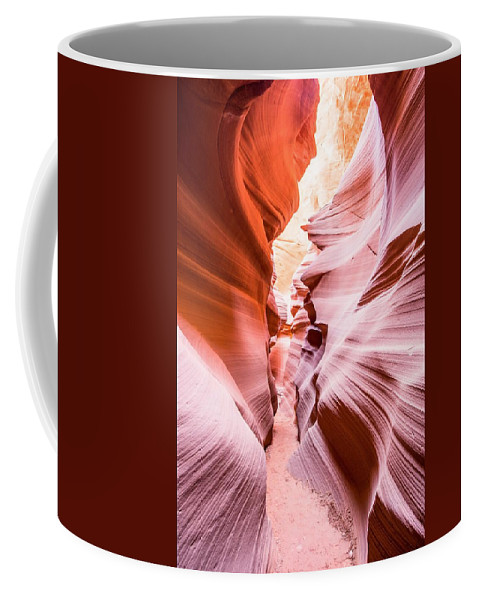 Arizona Coffee Mug featuring the photograph The Art Of Chaos by Chris Featherstone