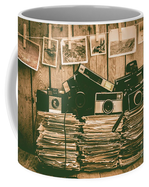 Vintage Coffee Mug featuring the photograph The Art Of Film Photography by Jorgo Photography - Wall Art Gallery
