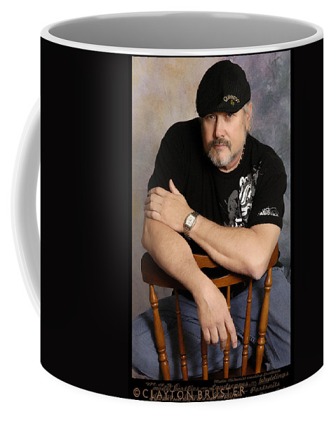 Clay Coffee Mug featuring the photograph The Artist by Clayton Bruster