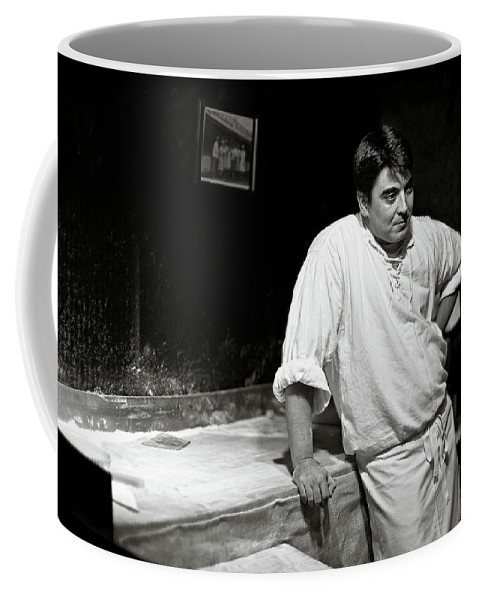 Baker Coffee Mug featuring the photograph The Baker by Dave Bowman