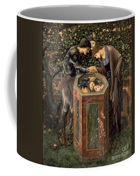The Coffee Mug featuring the painting The Baleful Head by Sir Edward Burne-Jones