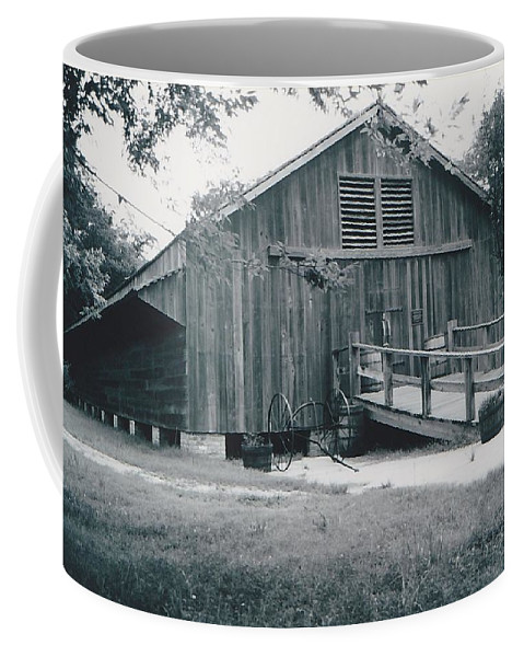 Barn Coffee Mug featuring the photograph The Barn by Michelle Powell