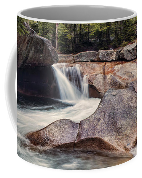 The Basin Coffee Mug featuring the photograph The Basin Pano by Heather Applegate