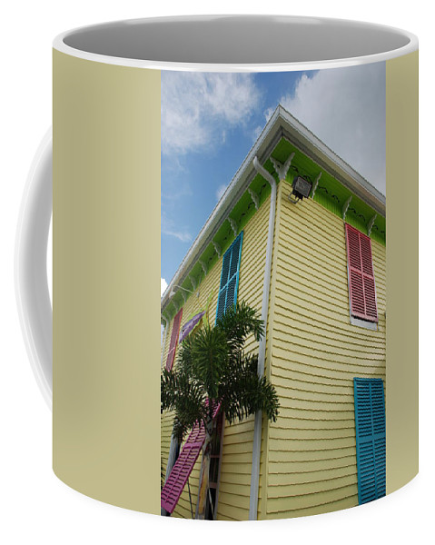 Architecture Coffee Mug featuring the photograph The Beach House by Rob Hans