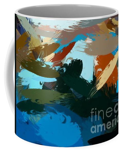 Beach Coffee Mug featuring the photograph The Dock At Boulevard by Jamie Johnson