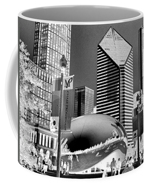 The Bean Coffee Mug featuring the photograph The Bean - 2 by Ely Arsha