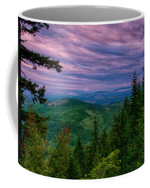 Olympic Coffee Mug featuring the photograph The Beautiful Olympic Mountains At Dawn - Olympic National Park, Washington by Mitch Spence