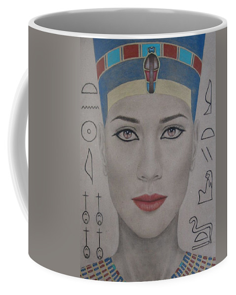 Woman Coffee Mug featuring the painting The Beautiful One Has Come by Lynet McDonald