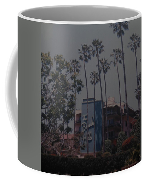 Beverly Hills Coffee Mug featuring the photograph The Beverly Hills Hotel by Rob Hans