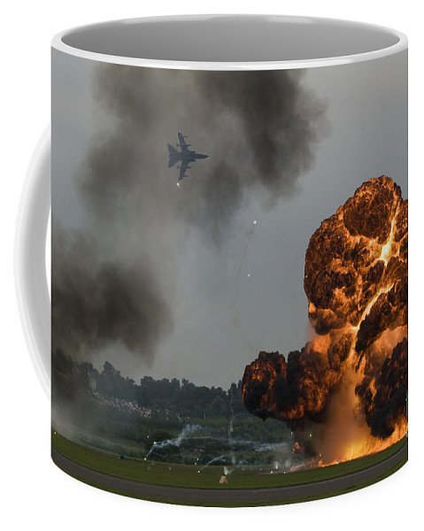 Explosion Coffee Mug featuring the photograph The Big Bang by Angel Ciesniarska