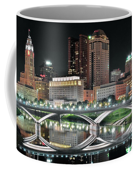 Columbus Coffee Mug featuring the photograph The Big C by Frozen in Time Fine Art Photography