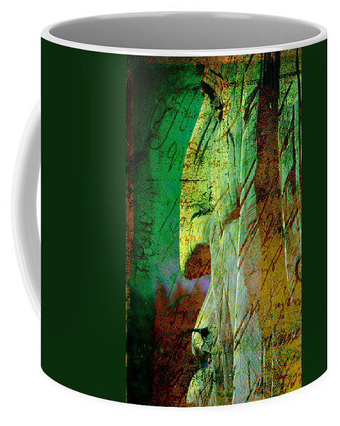 The Big Manitou Coffee Mug featuring the photograph The Big Manitou by Susanne Van Hulst