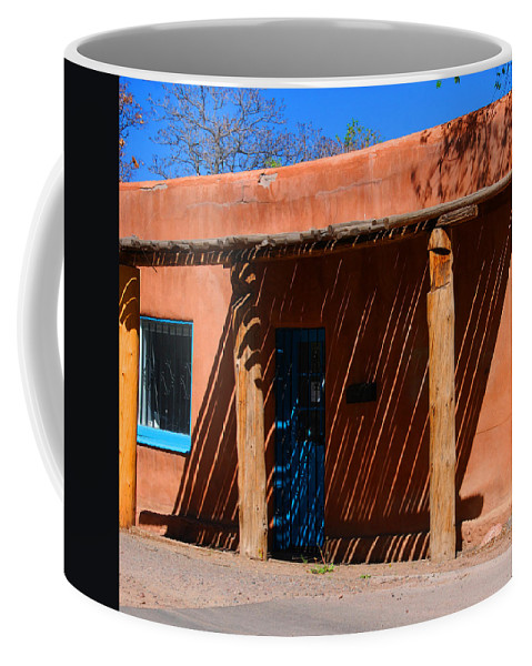 Santa Fe Coffee Mug featuring the photograph The Big Shade by Susanne Van Hulst