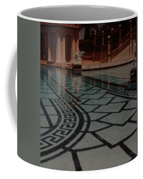 Sculpture Coffee Mug featuring the photograph The Biggest Pool by Rob Hans
