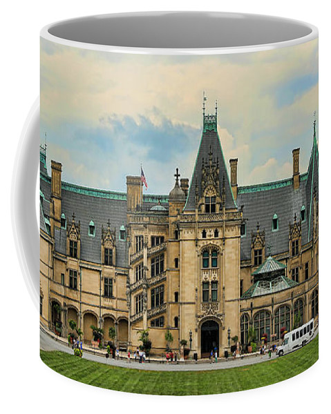 Biltmore Coffee Mug featuring the photograph The Biltmore House by Stephen Stookey