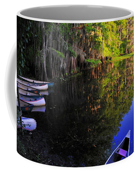 Skip Hunt Coffee Mug featuring the photograph The Black Lagoon by Skip Hunt