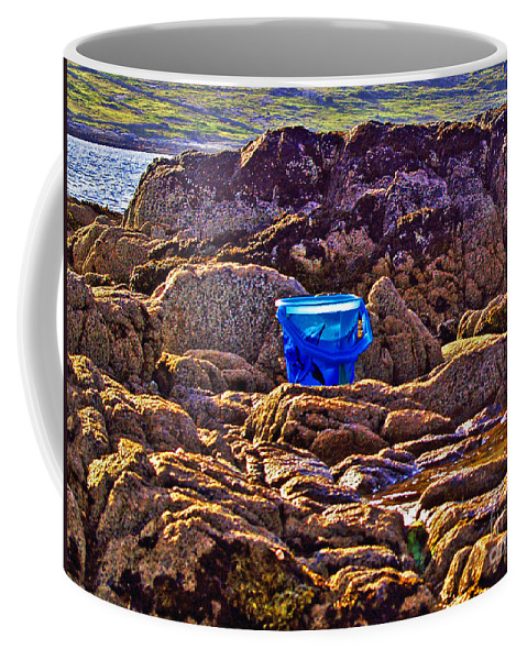 Fine Art Photography Coffee Mug featuring the photograph The Blue Bucket by Patricia Griffin Brett