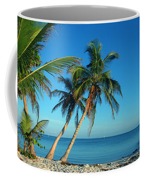 Smathers Beach Coffee Mug featuring the photograph The Blue Lagoon by Susanne Van Hulst