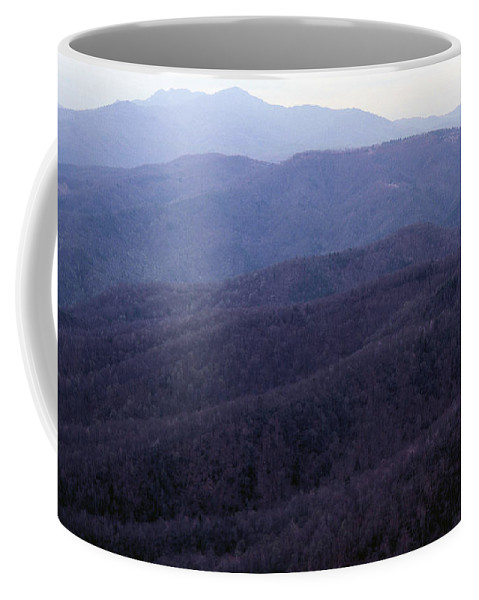 Mountains Coffee Mug featuring the photograph The Blue Ridge by Richard Rizzo