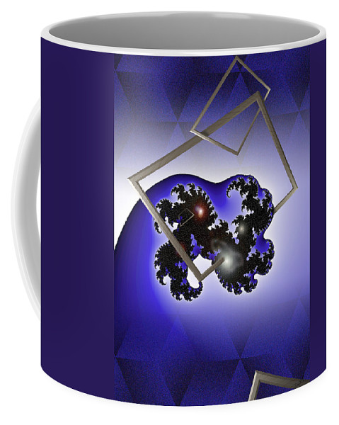 Digital Coffee Mug featuring the photograph The Blue Wave by Doug Gibbons