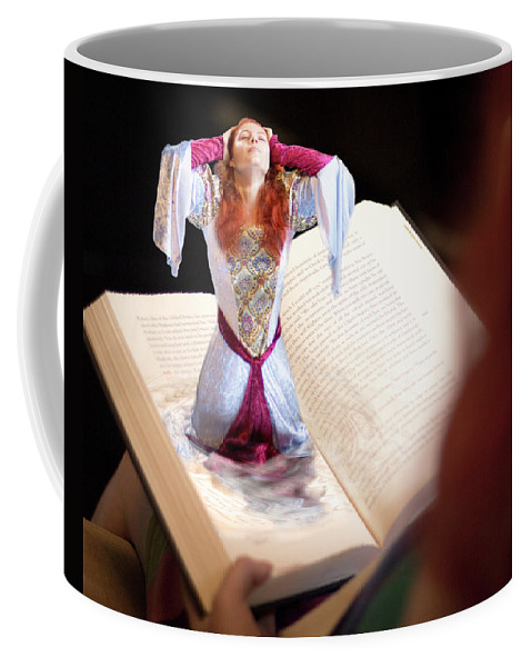 Book Coffee Mug featuring the photograph The Book by Beth Hedley