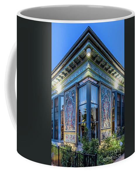 Boulder Dushanbe Teahouse Coffee Mug featuring the photograph The Boulder Dushanbe Teahous by John Greim