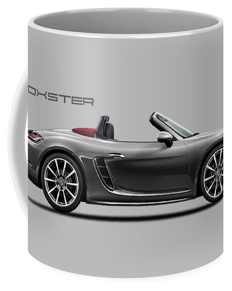 Porsche Boxster Coffee Mug featuring the photograph The Boxster by Mark Rogan