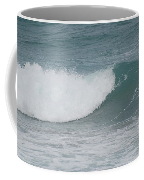 Water Coffee Mug featuring the photograph The Break by Rob Hans