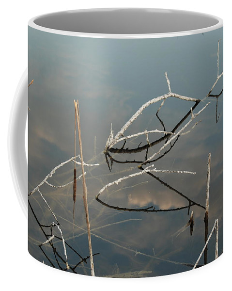 Wood Coffee Mug featuring the photograph The Bridge by Rob Hans