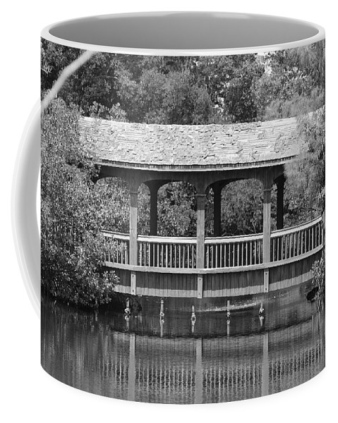 Architecture Coffee Mug featuring the photograph The Bridges Of Miami Dade County by Rob Hans
