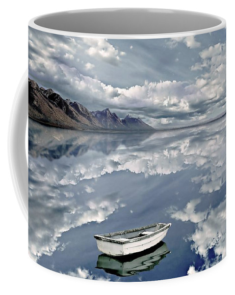 Photodream Coffee Mug featuring the photograph The Calm by Jacky Gerritsen
