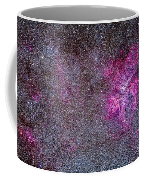 Australia Coffee Mug featuring the photograph The Carina Nebula And Surrounding by Alan Dyer