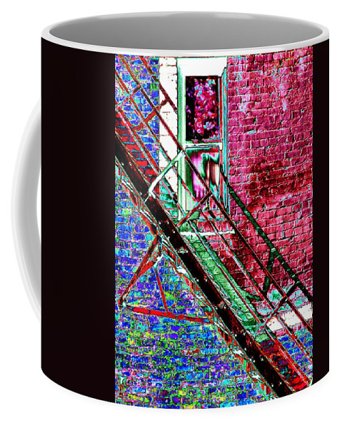 Theater Coffee Mug featuring the photograph The Case by Tim Allen