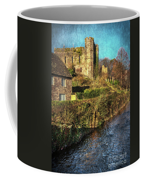 Brecon Coffee Mug featuring the photograph The Castle At Brecon by Ian Lewis