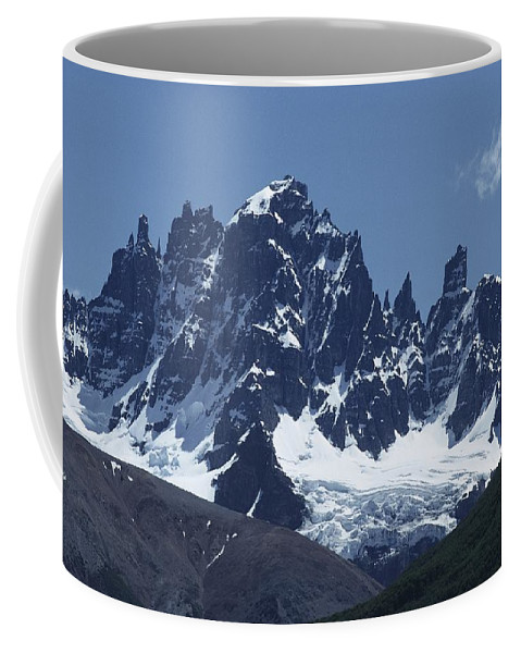 Scenes And Views Coffee Mug featuring the photograph The Cerro Castillo Mountains by Gordon Wiltsie