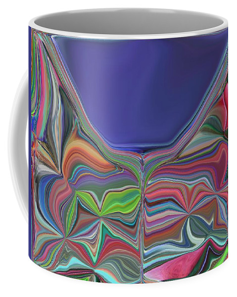 Chalice Coffee Mug featuring the digital art The Chalice by Tim Allen