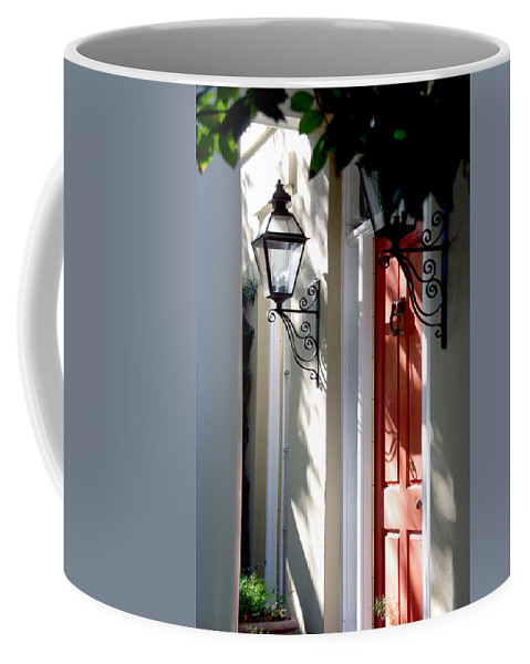 Photography Coffee Mug featuring the photograph The Charme Of Charleston Sc by Susanne Van Hulst