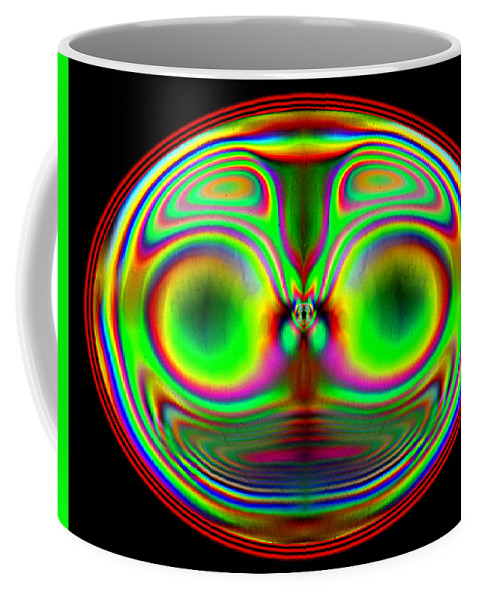 Plastic Coffee Mug featuring the photograph The Cheshire Cat by Carol Berget