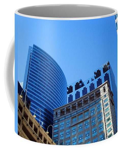 Chicago Coffee Mug featuring the photograph The Chicago Group by DB Artist