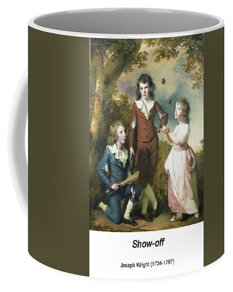 Altered Art Coffee Mug featuring the digital art The Children Of Hugh And Sarah Wood Of Swanwick Derbyshire by John Saunders
