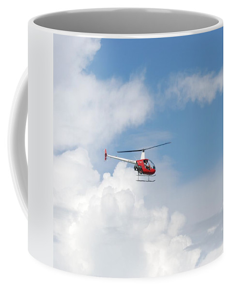 Helocopter Coffee Mug featuring the photograph The Chopper by Rob Hans