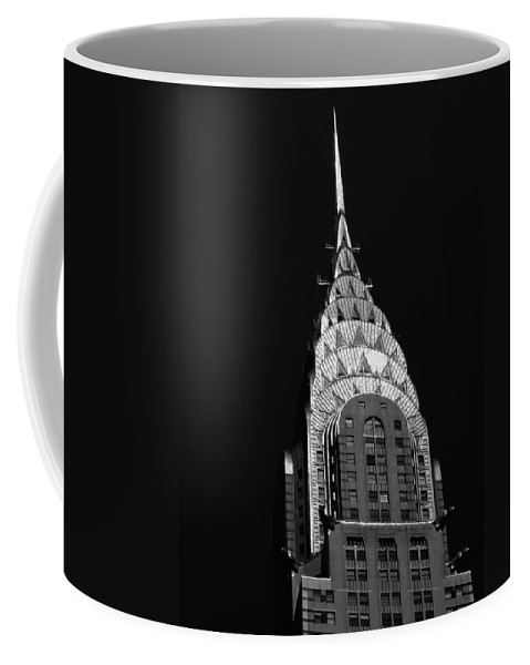 Chrysler Building Coffee Mug featuring the photograph The Chrysler Building by Vivienne Gucwa