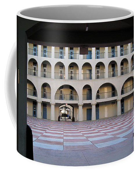 Photography Coffee Mug featuring the photograph The Citadel In Charleston Iv by Susanne Van Hulst