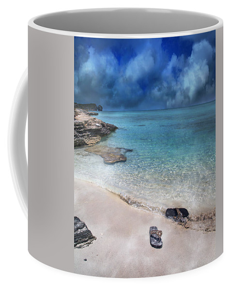 Flip Coffee Mug featuring the photograph The Cloud Parade by Betsy Knapp