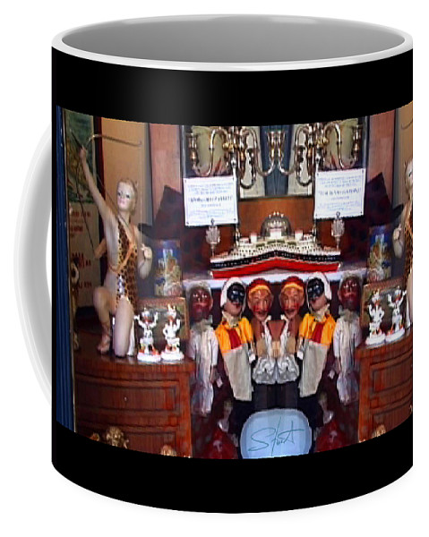 Toys Coffee Mug featuring the photograph The Collection Strikes Back by Charles Stuart