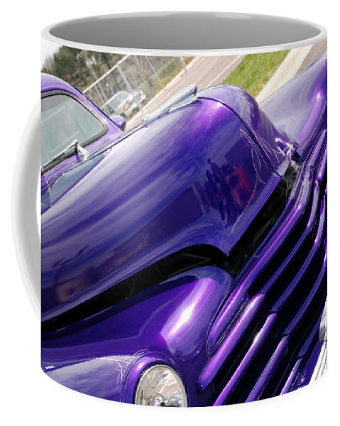 Cars Coffee Mug featuring the photograph The Color Purple by Susanne Van Hulst
