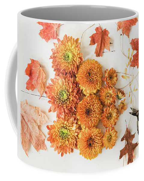 Flower Coffee Mug featuring the photograph The Colors Of Autumn by Kim Hojnacki