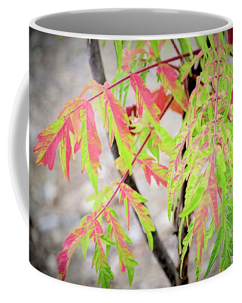 Shumac Coffee Mug featuring the photograph The Colors Of Shumac 3 by Victor K