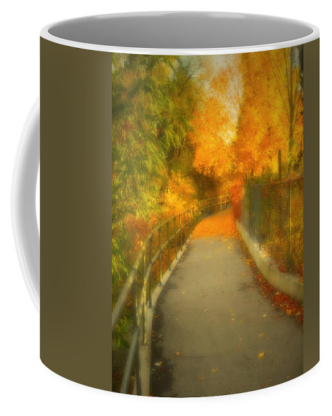 Colour Coffee Mug featuring the photograph The Colour Around The Corner by Tara Turner